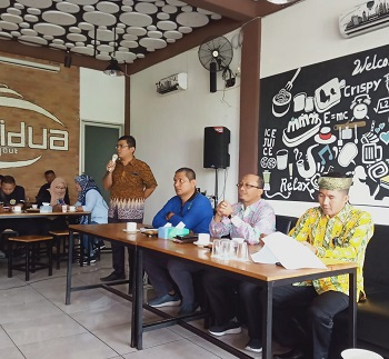 Jalin Silaturahmi, Pemda Siak Agendakan Coffee Morning Bersama Puluhan Awak Media