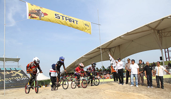 ISSI Kabupaten Siak Gelar Iven BMX Local Competition