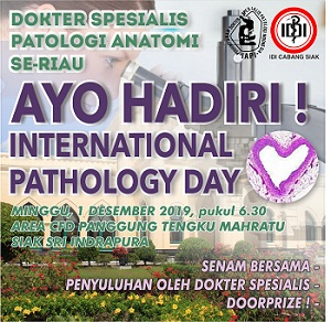 Siak Sri Indrapura Dipercaya sebagai Tuan Rumah International Pathology Day